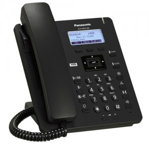 IP-телефон Panasonic KX-HDV100RUB Black